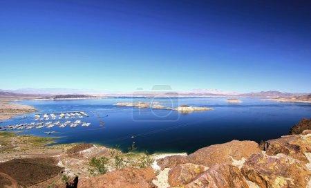 Photo pour Lac Mead Recreation Area Arizona USA - image libre de droit