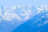 Snow Mountain Range Landscape