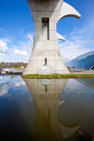 Reflection of Falkirk Wheel