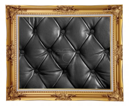 Photo frame Leather