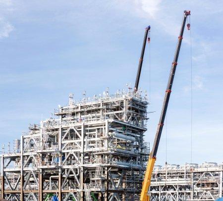 LNG Factory plant