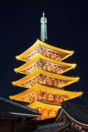 Senjoji temple in Tokyo Japan