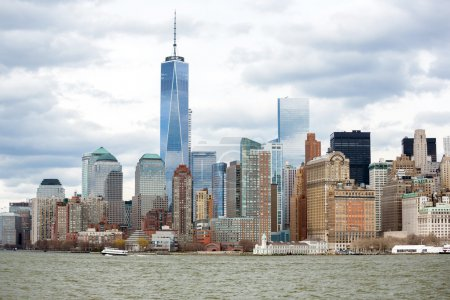 Photo pour New York dans le Lower Manhattan - image libre de droit
