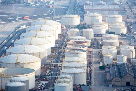 petrol tank building