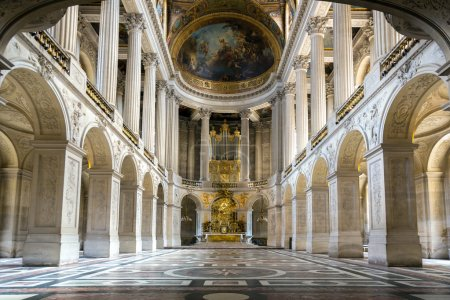 chapel in Versaille Palace