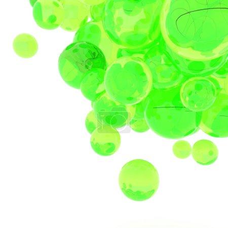 Photo pour Sphères abstraits 3D - image libre de droit