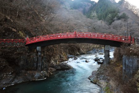 japan red sacred bridge