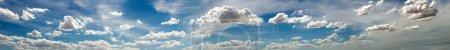 Foto de Foto panorámica del cielo con nubes - Imagen libre de derechos