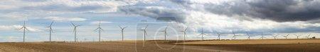 Wind generators panoramic image