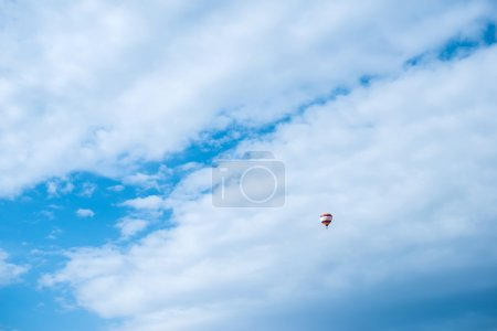 Balloon in the blue sky