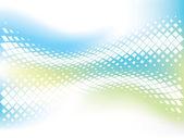 Abstraktní obchodní zázemí s vlnovkou mozaika