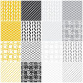 geometric seamless patterns: swavescircles lines
