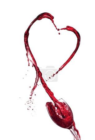 Wine splashes