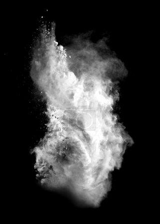 poussière blanche