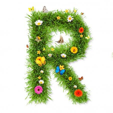 """Lettre de printemps """"R """""""