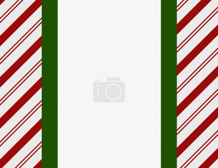 Red, Green and White Christmas Frame for your message or invitat