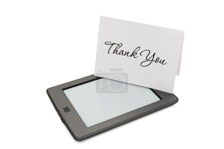 Touch e-reader avec carte Merci