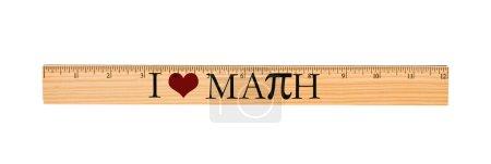 I Love Math Ruler