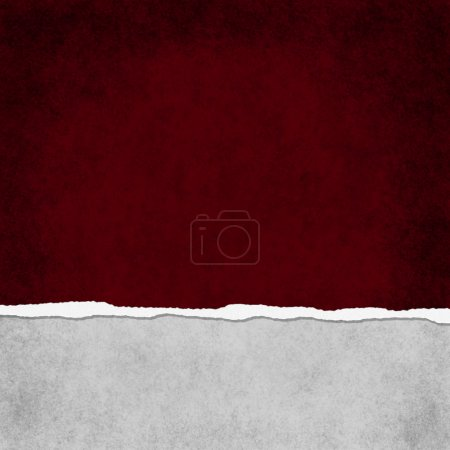 Square Red Grunge Torn Textured Background