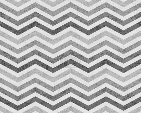 Gray Zigzag Textured Fabric Background