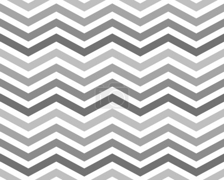 Photo for Gray Zigzag Pattern Background that is seamless and repeats - Royalty Free Image