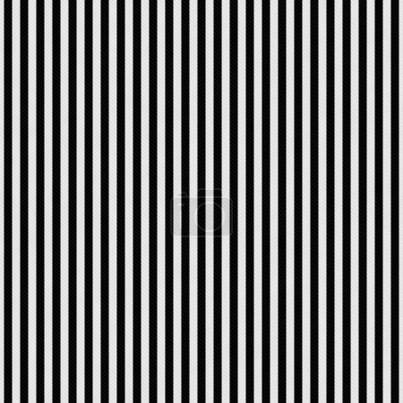Black and White Stripes Textured Fabric Background
