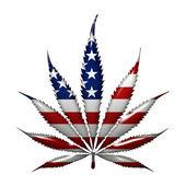 """Постер, картина, фотообои """"марихуаны в США"""""""