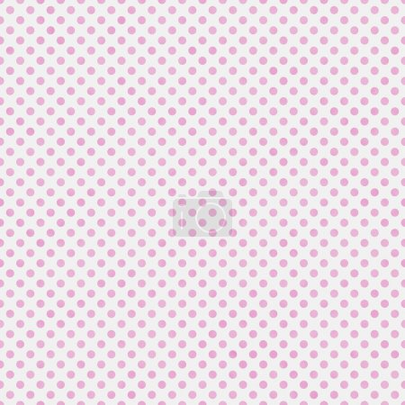 Light Pink and White Small Polka Dots Pattern Repeat Background