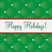 Happy Holidays bling card in vector format