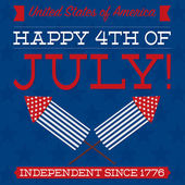 Independence Day blue card