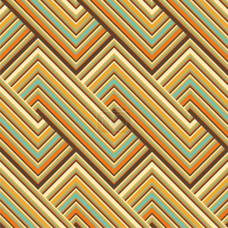 Colored lines pattern