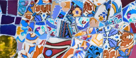 Photo for Abstract colorful mosaic suitable as background - Royalty Free Image