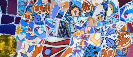 Photo pour Mosaïque colorée abstraite appropriée comme fond - image libre de droit