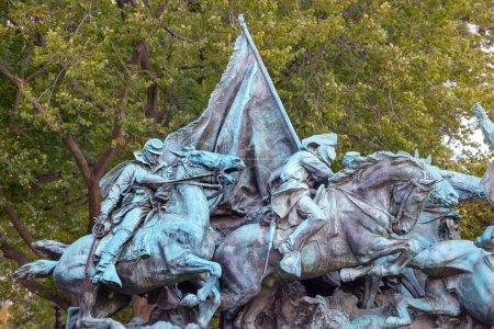 Cavalry Charge US Grant Statue Civil War Memorial Capitol Hill W