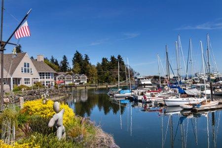 Bainbridge Island Harbor Puget Sound Washington State