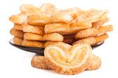 Soubor cookie tvar srdce