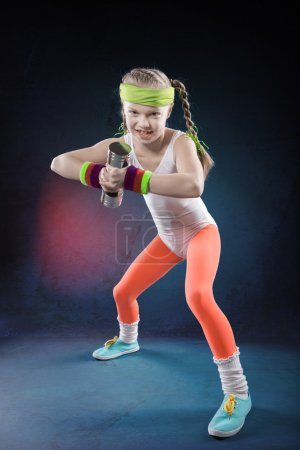Little Fitness Girl