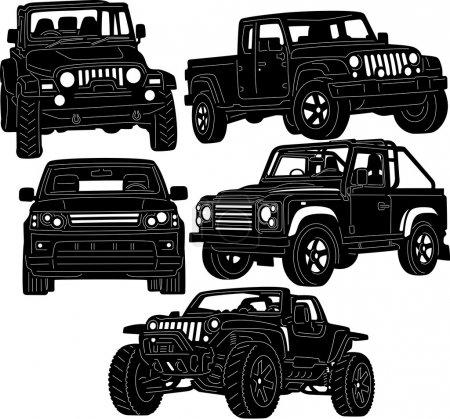 4x4 Truck Silhouette
