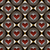 Abstract vector illustration of Valentine