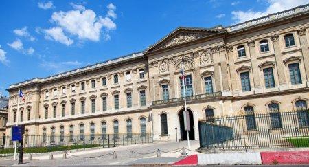 Big building in Paris
