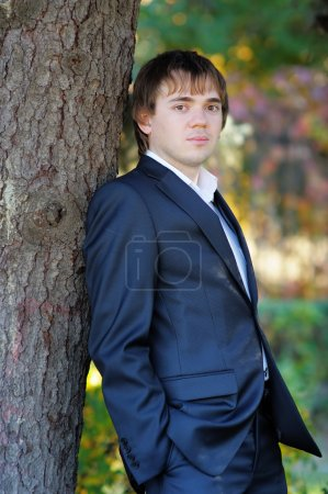 Handsome man (groom)