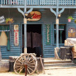Old western style building and bar...