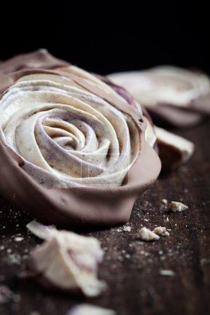 Meringue rose