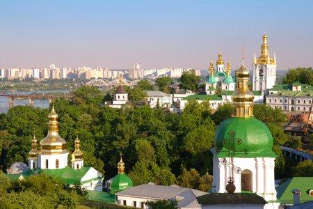 Photo pour Laure de Petchersk de Kiev. monastery.kiev.ukraine chrétienne orthodoxe. - image libre de droit