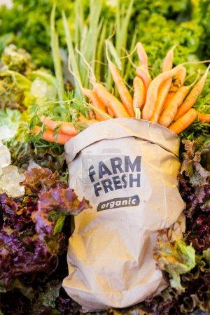 Fresh produce carrots