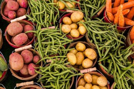 Fresh produce vegetables