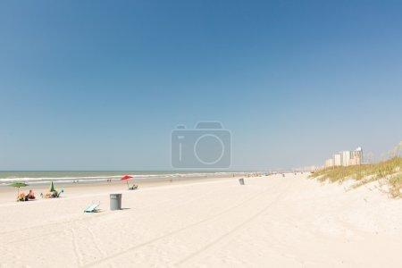 Typical summer day in Myrtle Beach.