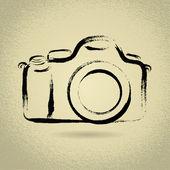 DSLR Camera with Brushwork