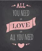 Chalkboard Valentine Card