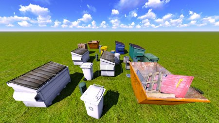 Dumpsters and skips